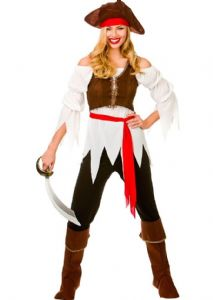 Pirate Shipmate Costume For Ladies EF-2171